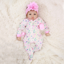 Otarddolls Bebe Reborn Dolls 22″55cm soft Vinyl Silicone reborn baby doll Cute Girl Toys boneca For Children Birthday Gift