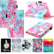 Tablet T280 T285 Funda For Samsung Galaxy Tab A 7.0 inch Fashion Mandala Leather Flip Wallet Case Cover Coque Shell Skin Stand цена 2017