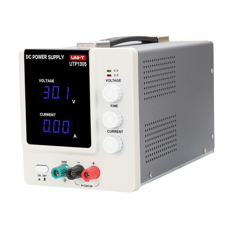 Uni t UTP1305 DC Мощность Высокая точность Программируемый Регулируемый Цифровой DC Питание 32 В/5A USB подключить компьютер ЕС 230 В