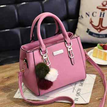 Pink Branded tote
