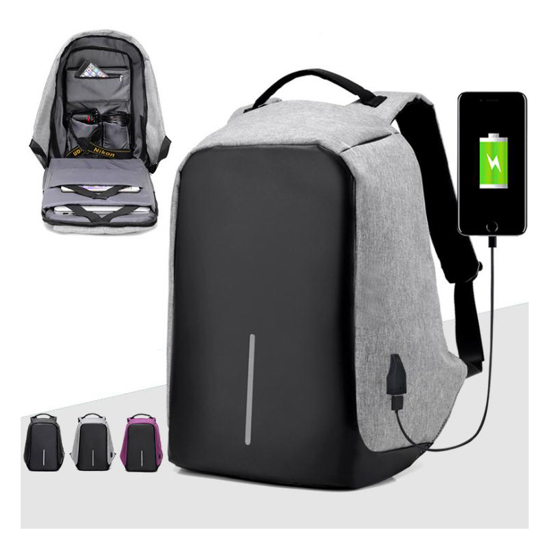 USB connector Travel Outdoor Sport Camping Hiking Bag softback Rucksack Light aseismatic ...