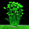 2016 New 40cm Green Artificial Simulation Protection Materials PVC Water Plants for Fish Tank Aquarium accessories Decoration