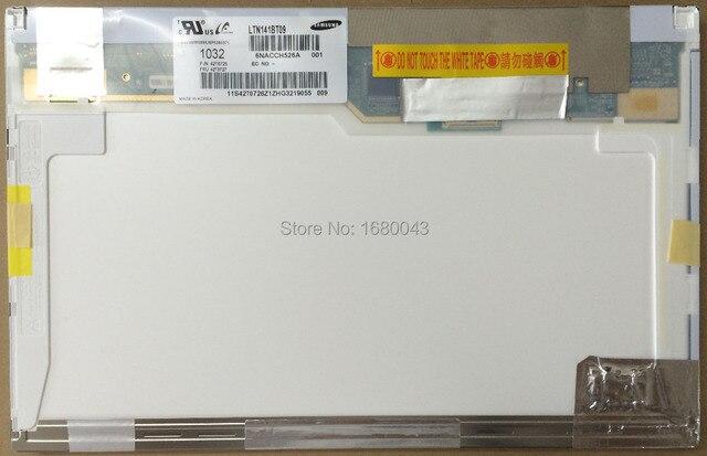 Бесплатная доставка LTN141BT09 001 42T0726 42T0727 fit B141PW04 V.0 для Lenovo ThinkPad T410 T410i ЖК СВЕТОДИОДНЫЙ Экран НОВЫЙ