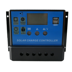Image 2 - 60A 50A 40A Solar Charger Controller 12V 24V LCD PWM Solar Regulator for Lead Acid Lithium ion LiFePO4 Battery for Solar System