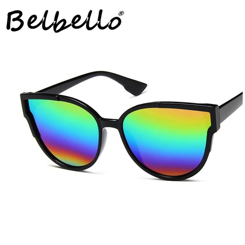 Belbello Chromatic Sunglasses Men Handsome Fashion New Style Goggle Women Beautiful Unisex Retro Glasses