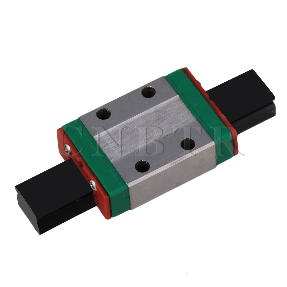 CNBTR 8mm Thick 30mm Length Linear Guide Rail Sliding Block MGN9C cnbtr 8mm thick 30mm length linear guide rail sliding block mgn9c