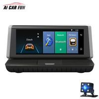 4G 8 Car Monitor Android 5 1 Car DVR Bluetooth Full HD 1080P Touch Screen ROM