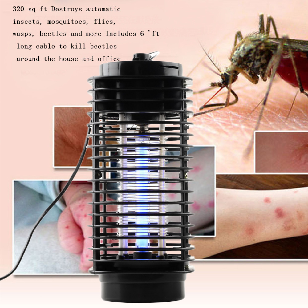 Hot Modern Design Bug Zapper Mosquito Insect Killer Lamp Electric PMoth Wasp Fly Mosquito Killer 110V/220V New