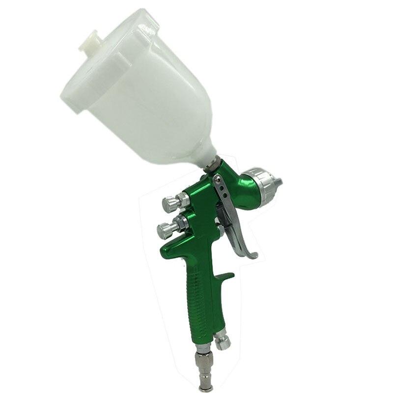 SAT1164 Spray Gun HVLP 1.3mm/1.4mm Noozle 600ml Cup Gravity Paint Spray Gun Sprayer Gun Air Tools For Car Paint