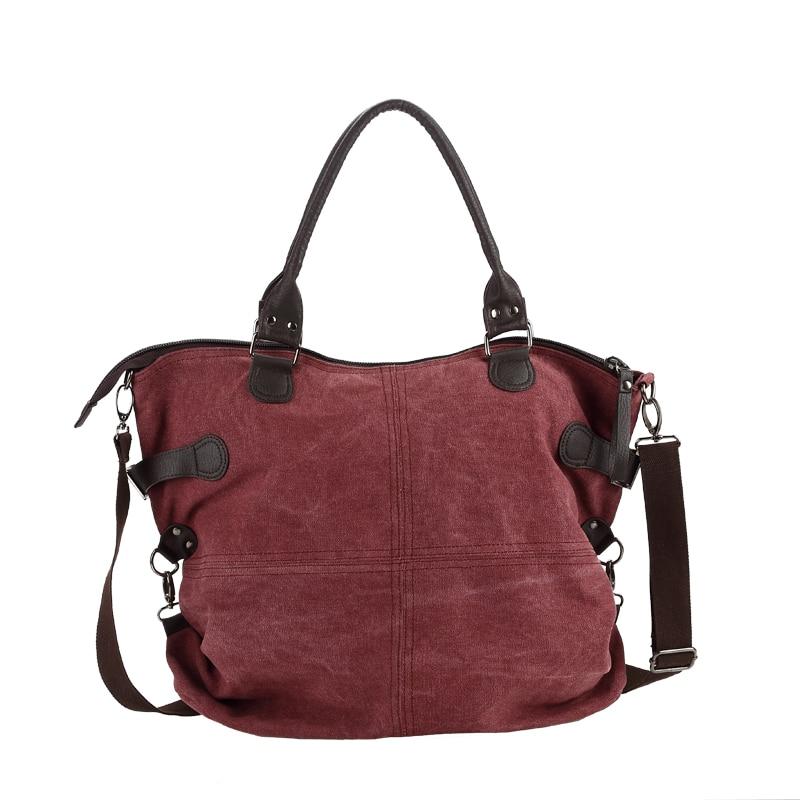 ФОТО Fashion Canvas Bag Brand Women Handbags Patchwork Casual Women Shoulder Bags Female Messenger Bag Ladies 2017 Purse Pouch F99