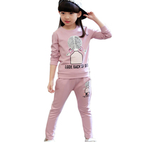 Cyjmydch Lovely Spring Girls Clothing Sets Sport Suit Set Chrismas Costumes Outfit Toddler Kids Girls Clothes