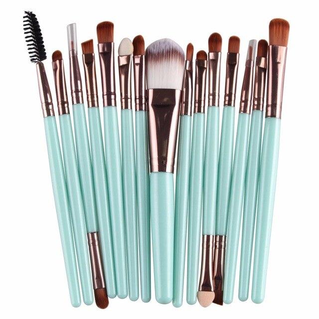15Pcs Makeup Brushes Set 3