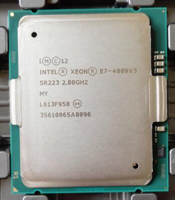 E7-4809 V3 Best quality E7-4809V3 2.10GHZ 8-Core 15MB SmartCache E7 4809 V3 FCLGA2011 TPD 115W 1 year warranty