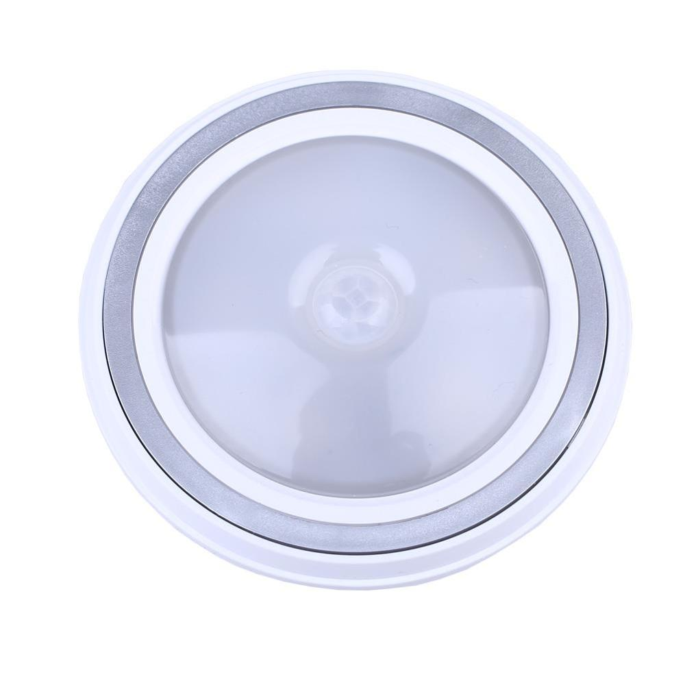 5 Led Pir Motion Sensor Night Light Lamp Hallway Home