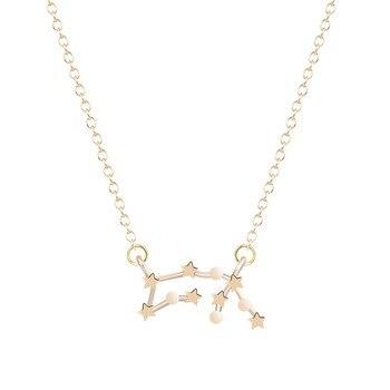 Todorova étoile signe du zodiaque 12 Constellation colliers et pendentifs ras du cou colliers pour femmes longue chaîne collier bijoux femme 1