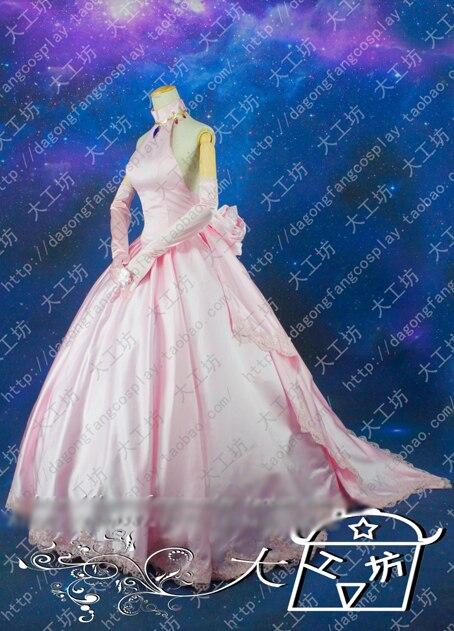 Tengen Toppa Gurren Lagann Nia Teppelin Pink Wedding Dress Cosplay Costume Halloween Uniform Outfit Custom Made Halloween Party Dress Dress Tankhalloween Mardi Gras Costumes Aliexpress,Sheath Wedding Dress With Lace Overlay