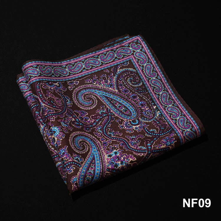 NF09 HN10Z Brown Purple Paisley