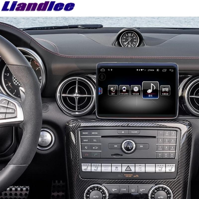 Pour Mercedes Benz SLK 200 350 MB R172 2009 ~ 2016 Liandlee voiture lecteur multimédia CarPlay adaptateur NAVI Radio GPS Navigation