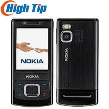 Разблокированный Мобильный телефон Nokia 6500 S 6500 слайдер с камерой 3.15MP Bluetooth 3g Bluetooth отремонтированный