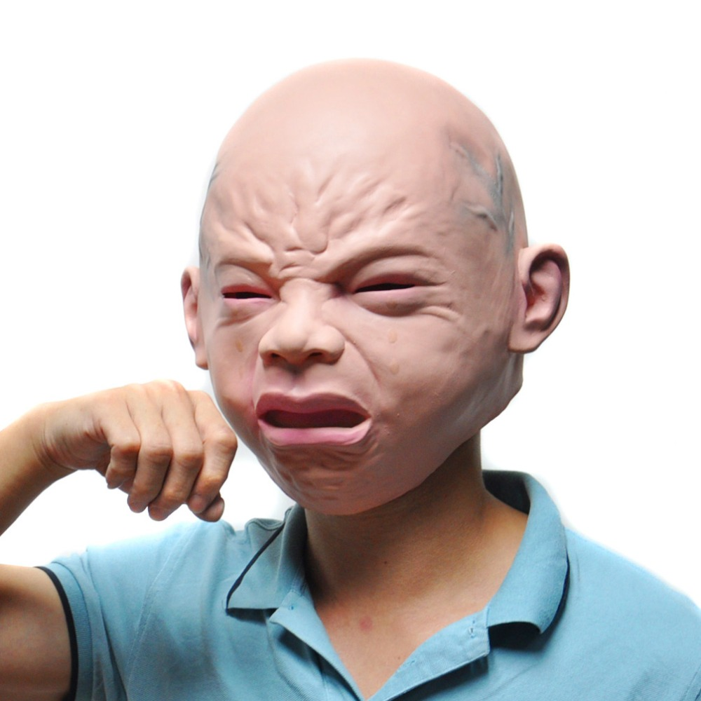 Online Buy Wholesale horror baby halloween mask from China horror ...
