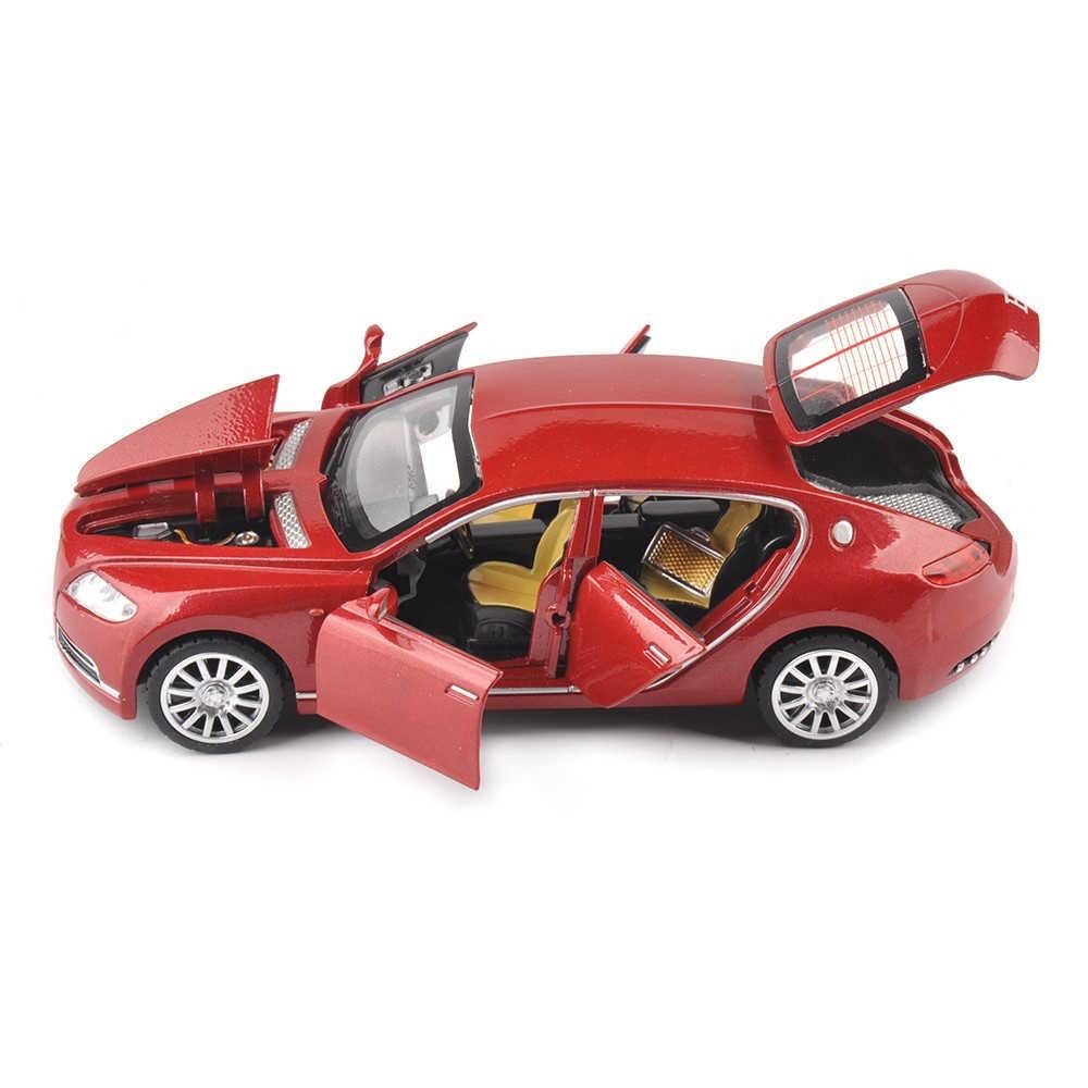 Dengan Harga Murah 1:32 Bugatti Galibier Veyron Mobil Modles Alloy Diecast Model Brinquedos Koleksi Menarik Kembali Anak-anak Mainan Hadiah Menampilkan