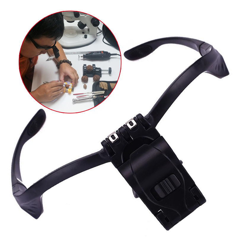 Headband Eye Glass Repair Magnifier 9892B Viewing Ethereal Reparatie Hand Free