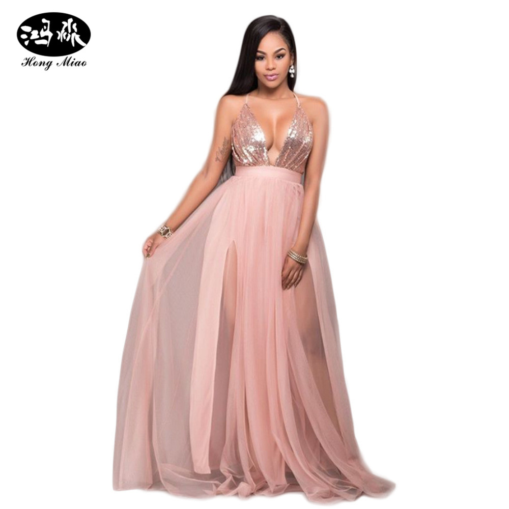 Платье в сетку розовое