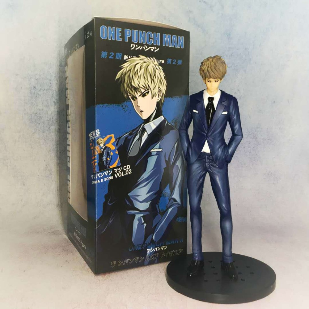 NEW 26cm ONE PUNCH-MAN one punch man Genos Action figure toys doll with box