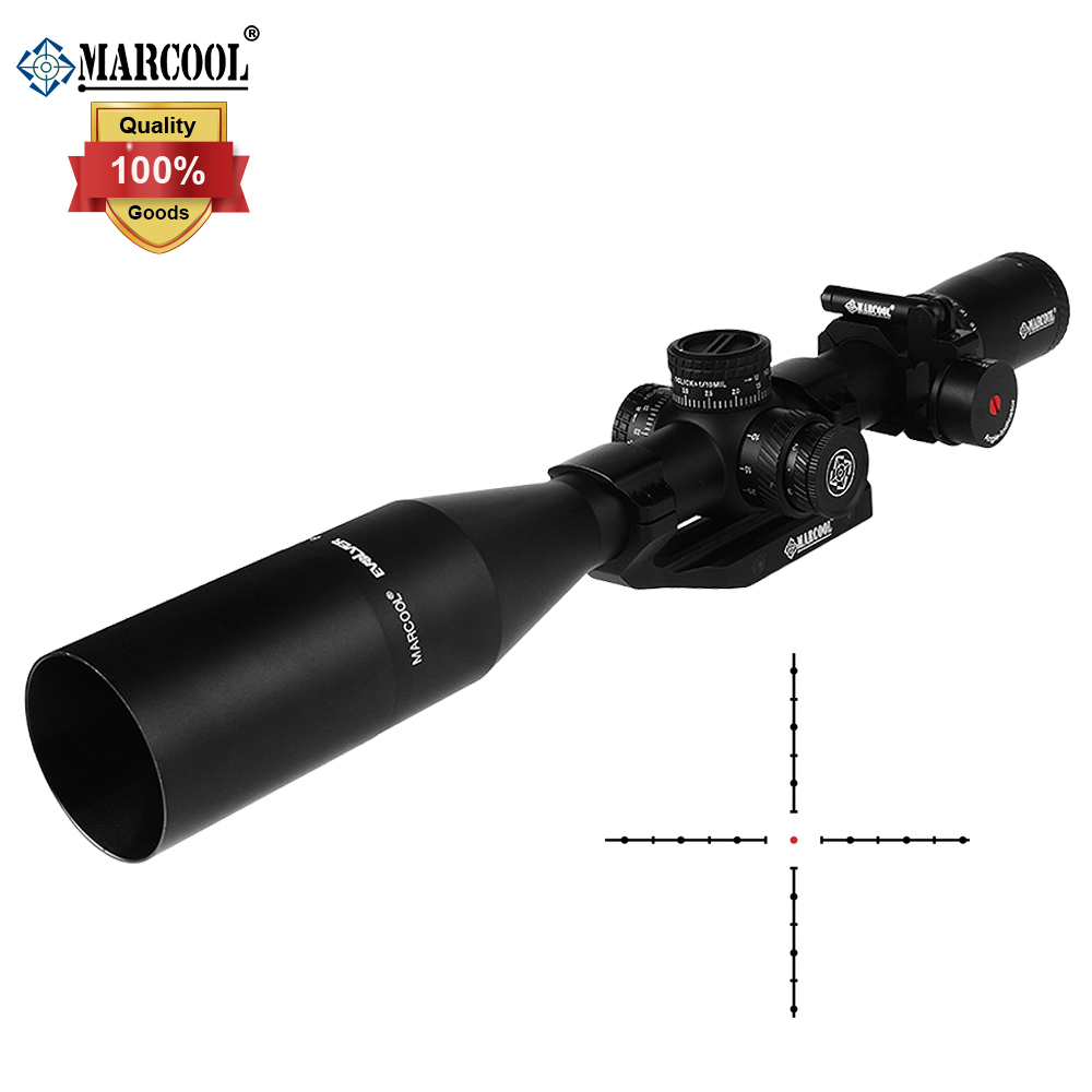 MARCOOL OPTICS HD 6-24x50 SFIR Long Range FFP First Focal Plane Shooting Hunting Riflescope Optical Sight Collimator Scope
