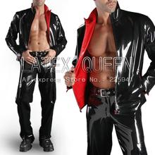 Мужская двухслойная латексная верхняя одежда