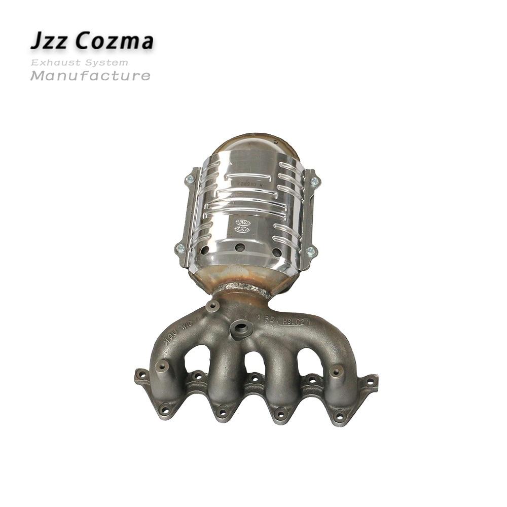 JZZ Euro 3 Standard Original Ceramic Catalyst For Car Modern Elantra V V T 2.0L Exhaust Ceramic Catalytic Converter Replacement