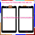 """Black 7.0"""" For Asus Fonepad 7 2014 FE170CG ME170C ME170 K012 Touch Screen Touch Panel Digitizer Sensor Front Glass Lens Tracking"""