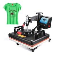 12x15 дюймов термопресс машина футболка печатная машина цифровой качели 29x38 см теплопередача сублимационный принтер ткань DIY
