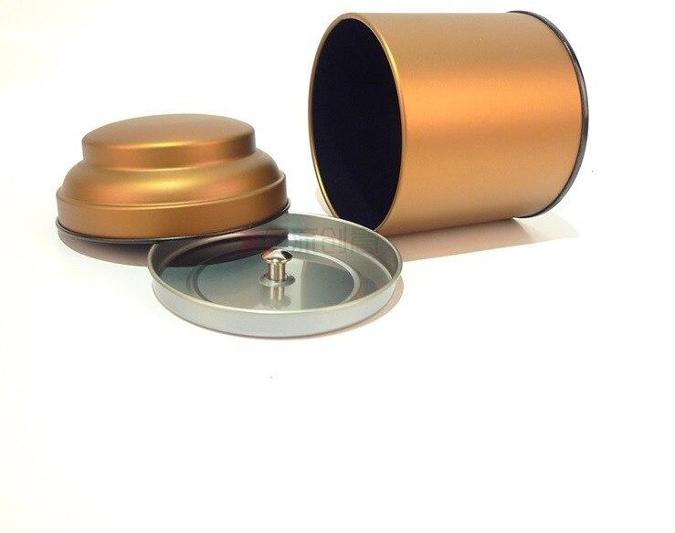 8.8*10 см прекрасный круглый жестяной коробке/коробка чая или шкатулка без печати