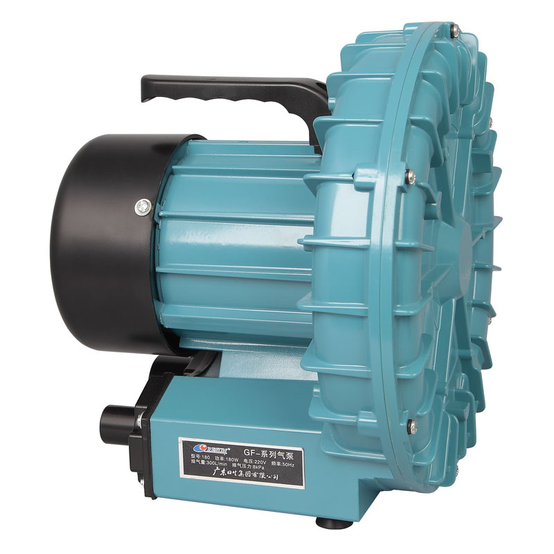 180W 300L Min RESUN GF 180 High Pressure Electric Turbo Air Blower Aquarium Seafood Air Compressor