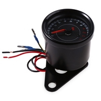 Free Shipping B719 Universal LED Auto Car Electric Tachometer Meter Gauge Shift Lighting Motorcycle Modification Part 2