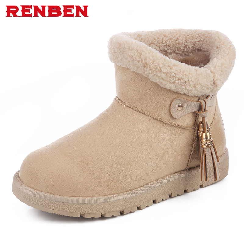 2018 new winter high women boots plush warm lady shoe plus size 35 to 41 easy wear zipper up girl white colour flower snow boots шапка wear colour wear colour we019cuzrk93