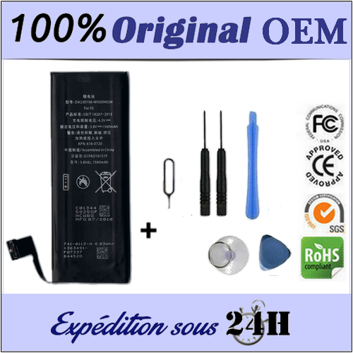 AAAAA Quality Battery for iPhone 5 Battery 100% New