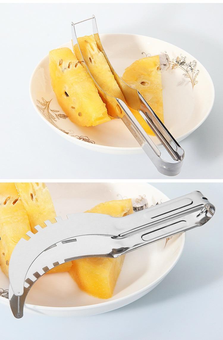 Daugiafunkcis nerūdijančio plieno vaisių arbūzo pjaustymo peilis - Virtuvė, valgomasis ir baras - Nuotrauka 5