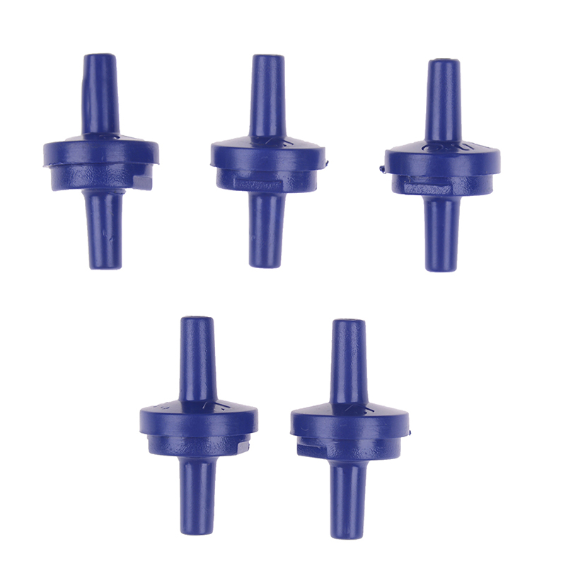 5pcs/set Air Pump Check Valve One Way Non-Return Valve Fish Tank Aquarium Water Air Pump