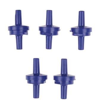5pcs/set Air Pump Check Valve One Way Non-Return Valve Fish Tank Aquarium Water Air Pump e5yk 3 way air pump tube splitter manifold taps switch valve for fish tank aquarium white red