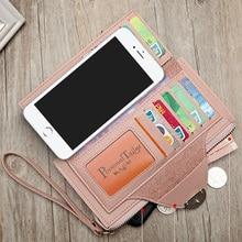 Women Fashion Phone Pocket Long Wallet (3 colors)