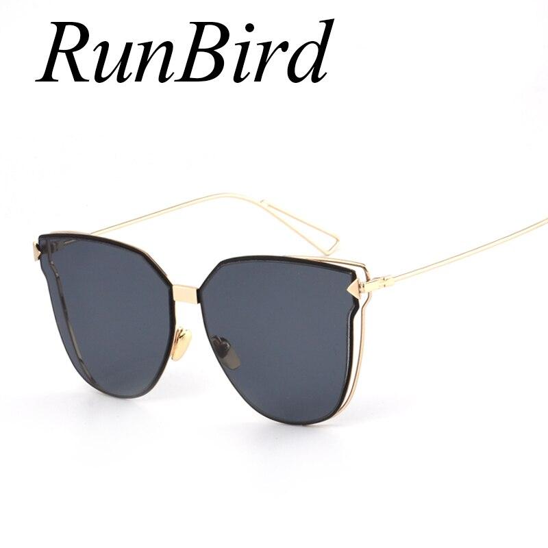 RunBird Grife Óculos de Sol Olho de Gato Óculos De Sol Mulheres Arrow  Formas para Feminino 5e81a5e8fb