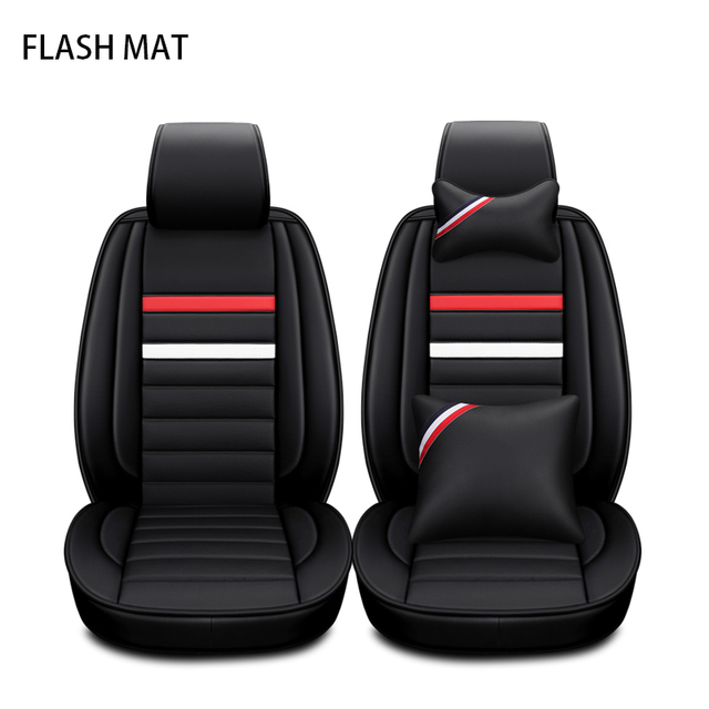 Universal car seat covers for vw polo accessories vw passat b5 passat b6 passat b7 b8 vw golf 5 golf 6 7 Auto accessories