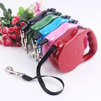 2016 New Listing Pet Dog Automatic Leash For Dogs Retractable Pet Dog Harness Leads Dogs Chain