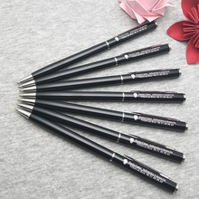 Nice Wedding favors customized on classical wedding pens 10pcs to engrave free with your date and wish text
