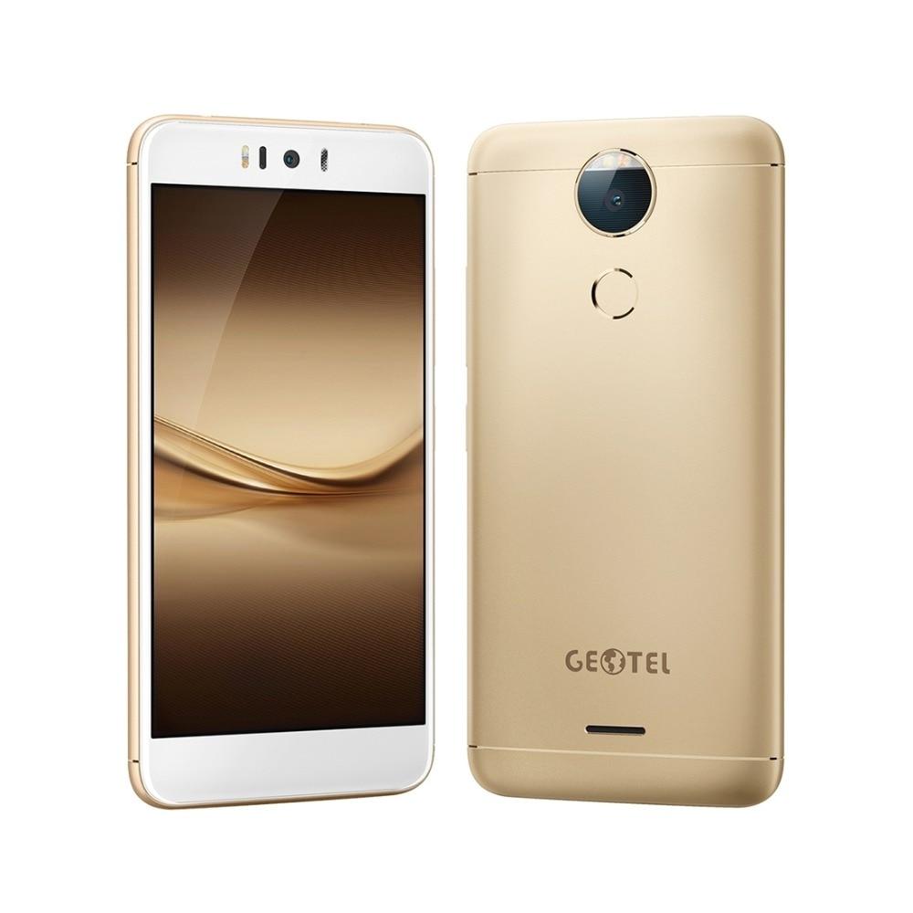 GEOTEL AMIGO 4G LTE Android 7.0 Cellphone 3GB RAM+32GB ROM MTK6753 Octa Core 5.2 inch Fingerprint 13MP Camera 3000mAh Smartphone