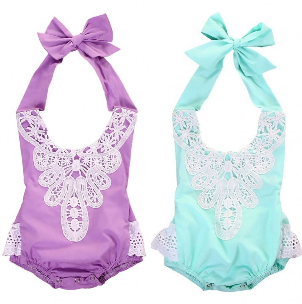 Newborn Toddler Baby Girls Lace Floral Romper Jumpsuit Sunsuit Clothes baby girl romper children jumpsuits newborn rompers 2016 puseky 2017 infant romper baby boys girls jumpsuit newborn bebe clothing hooded toddler baby clothes cute panda romper costumes