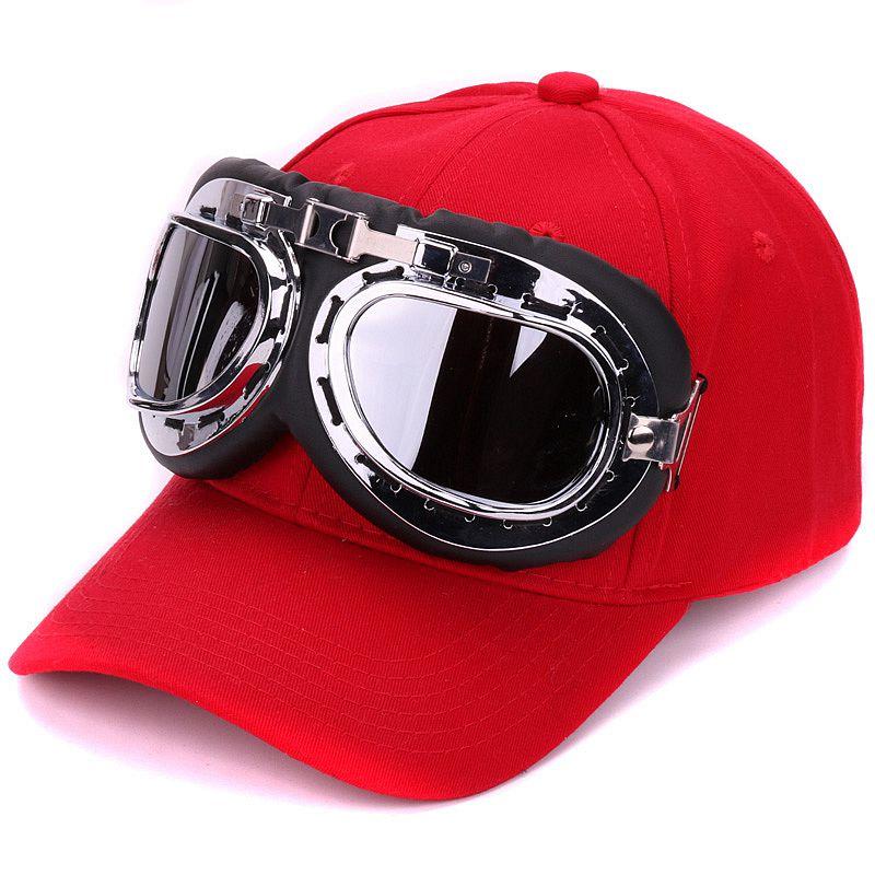 02f24942c7d Fancy cotton 6 panels ski goggles baseball cap with polite glasses ...
