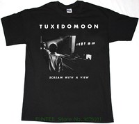 Summer Short Sleeves Cotton T Shirt Tuxedomoon Scream With A View Mens Black T Shirt New